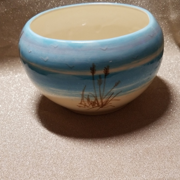 Other - Englewood Florida Handpainted Seashore Bowl